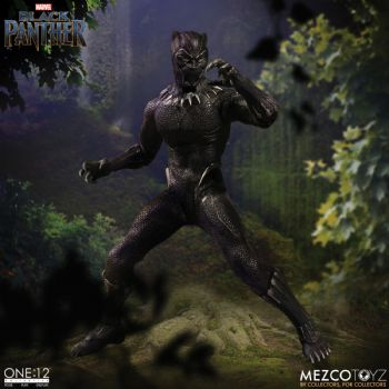** Pre-Order ** Mezco One:12 Collective Marvel Comics Black Panther Action Figure